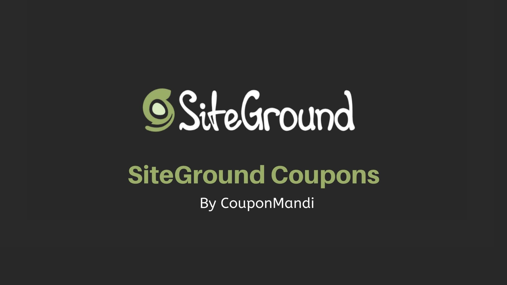 You are currently viewing SiteGround Coupon Code: Up To 70% Discount Offer (2020)