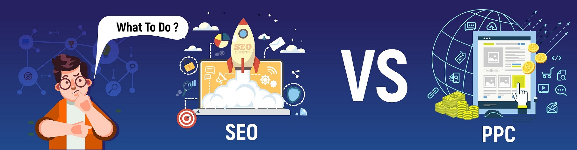 You are currently viewing SEO Vs. PPC – What To Do?