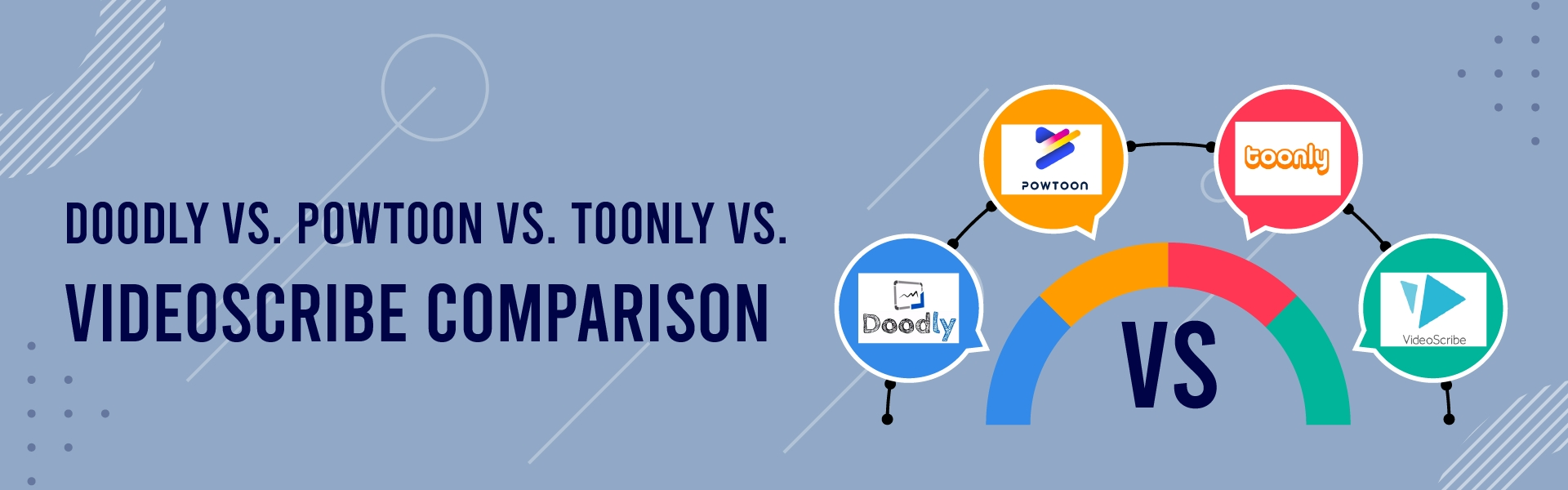You are currently viewing Doodly vs. Powtoon vs. Toonly vs. VideoScribe Comparison