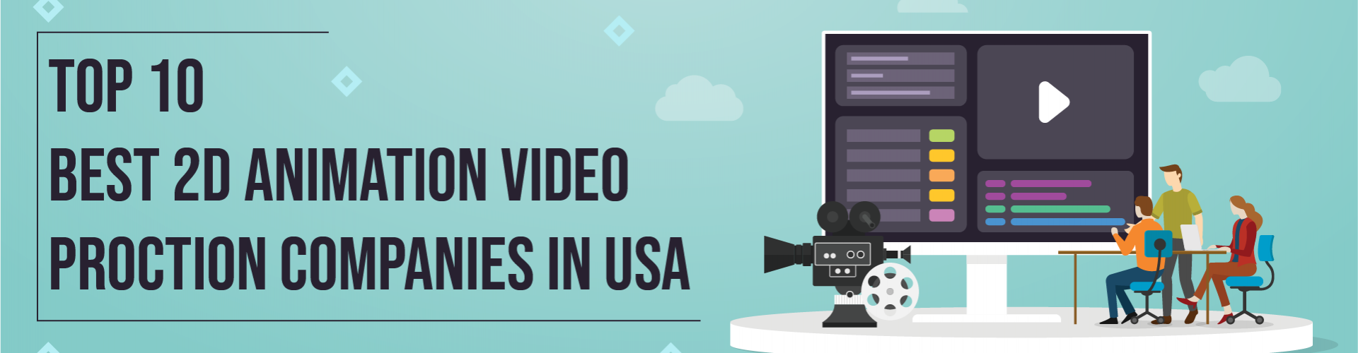 10 Best 2D Animation Video Production Companies in USA – 2021