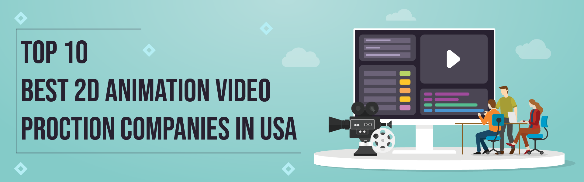 You are currently viewing 10 Best 2D Animation Video Production Companies in USA – 2021